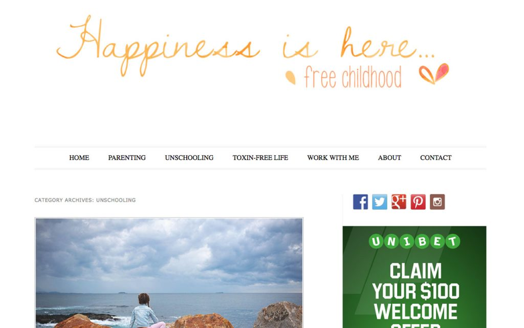 Happiness is Here : Unschooling Blog You Should Follow
