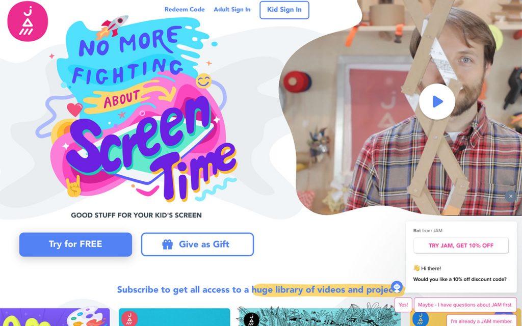 JAM: Online Resource for Unschooling