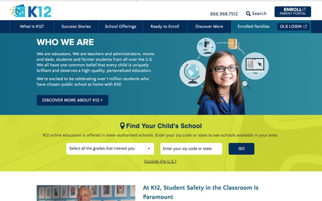 K12: Online Resource for Unschooling