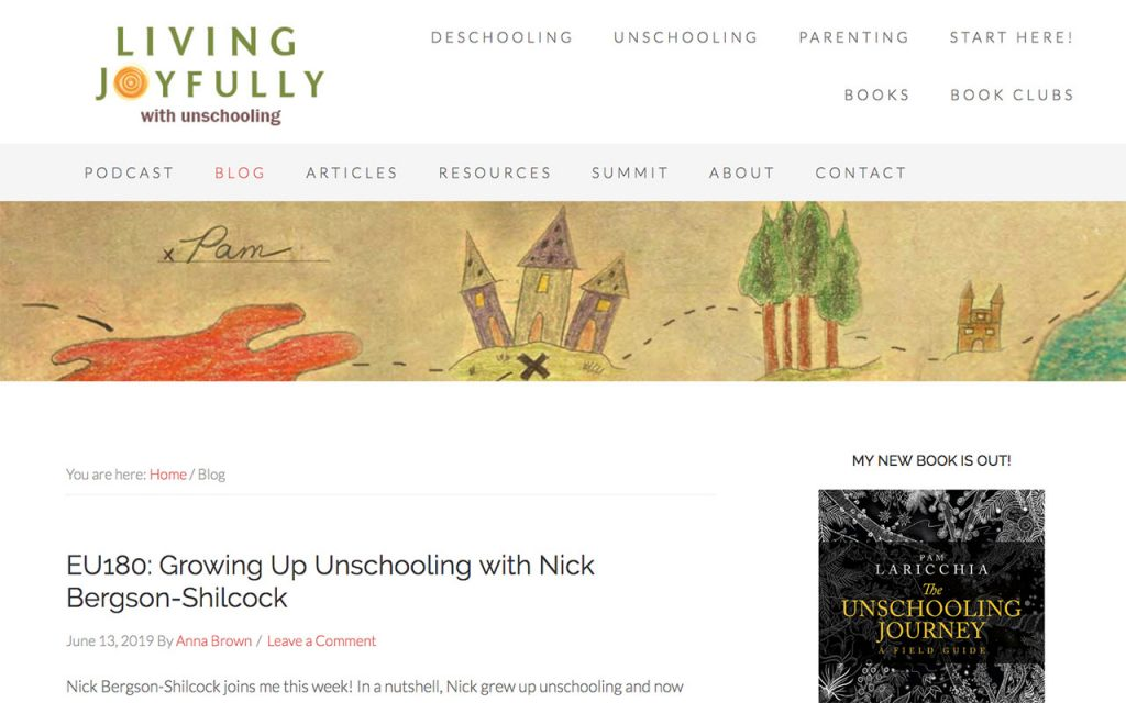 Living Joyfully : Unschooling Blog You Should Follow