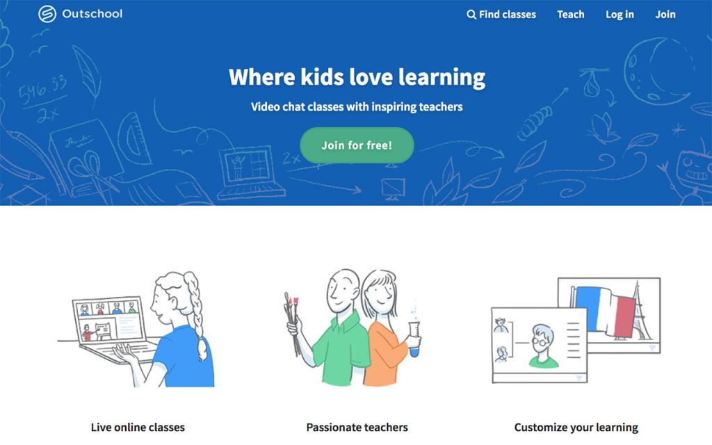 Outschool: Online Resource for Unschooling