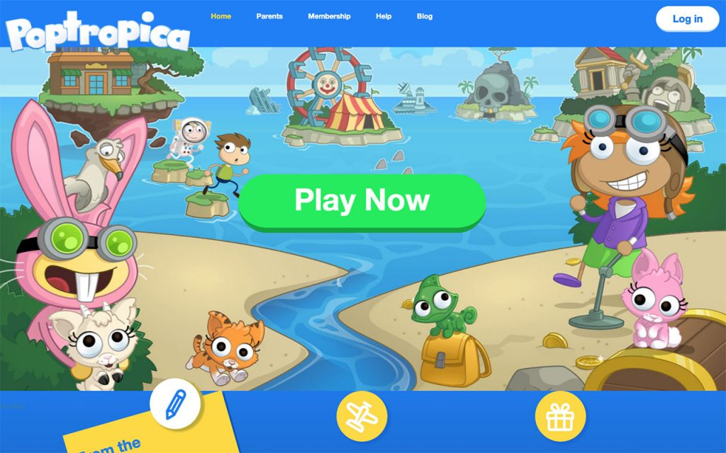 Poptropica: Online Resource for Unschooling