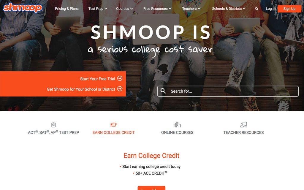 Schmoop: Online Resource for Unschooling
