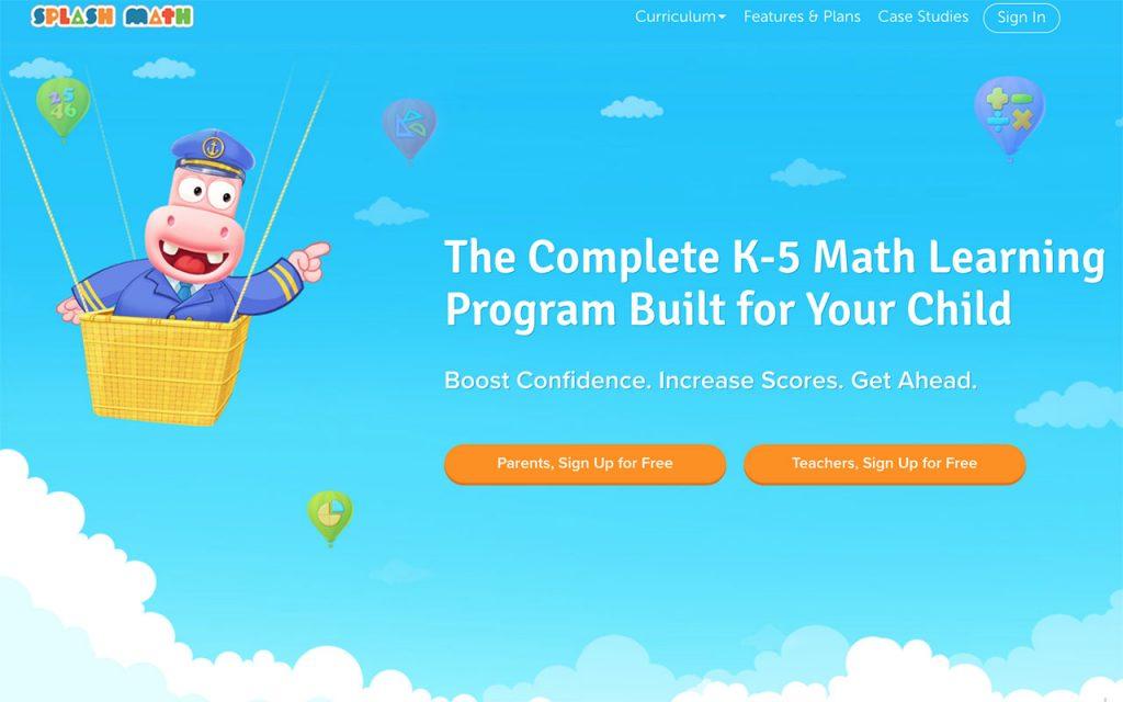 Splash Math: Online Resource for Unschooling