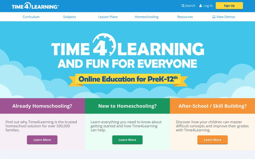 Time4Learning: Online Resource for Unschooling