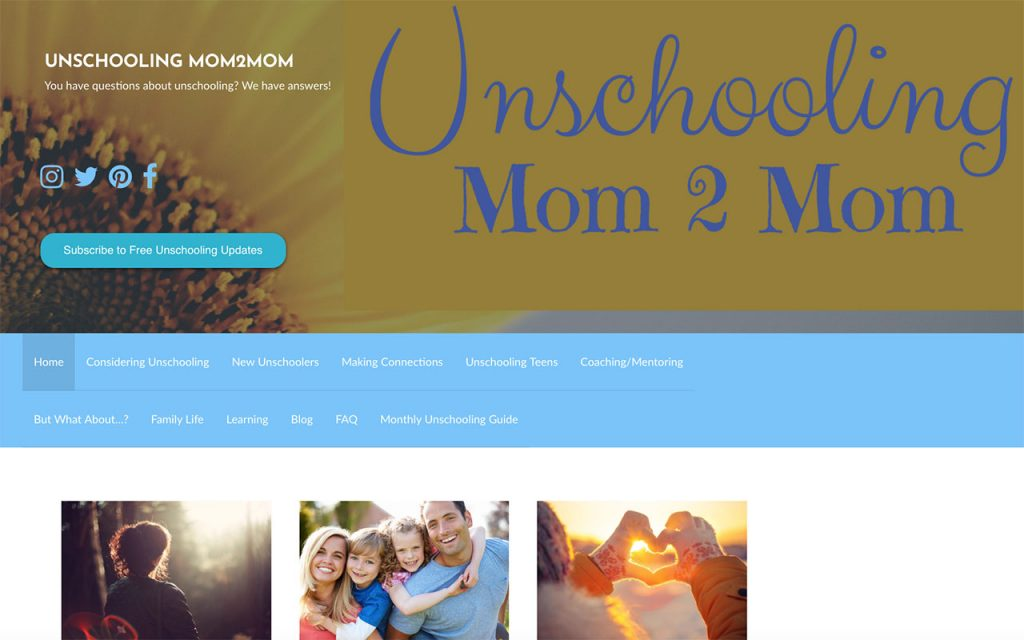 Unschooling Mom2Mom : Unschooling Blog You Should Follow