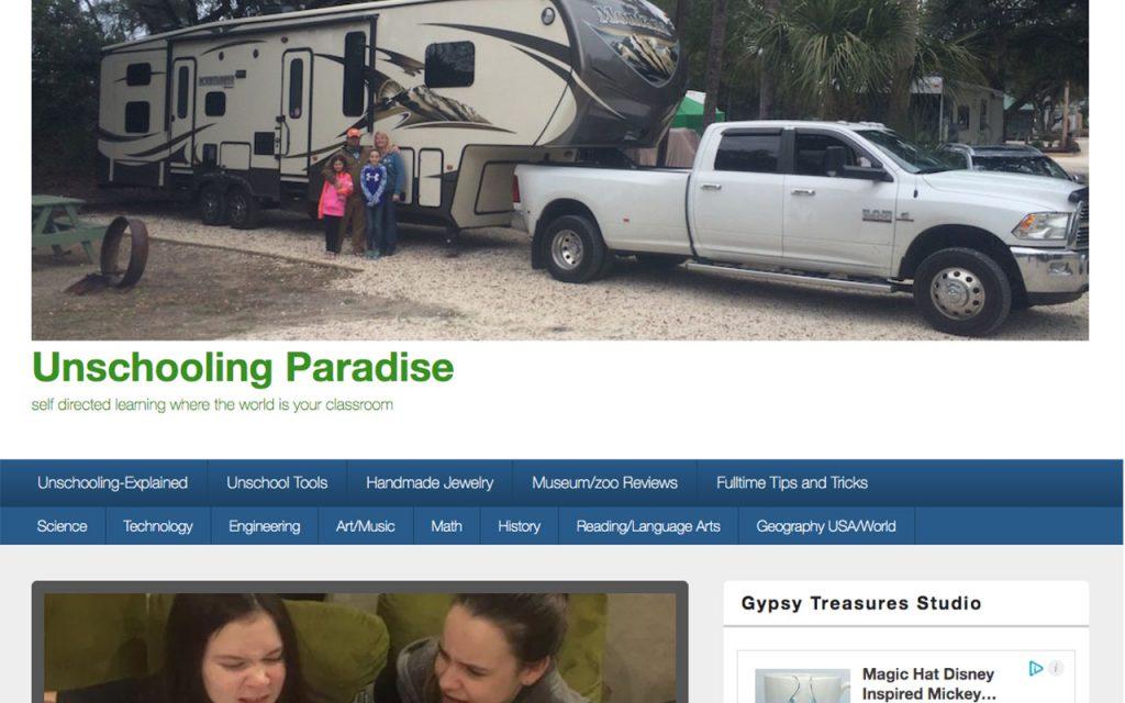 Unschooling Paradise : Unschooling Blog You Should Follow