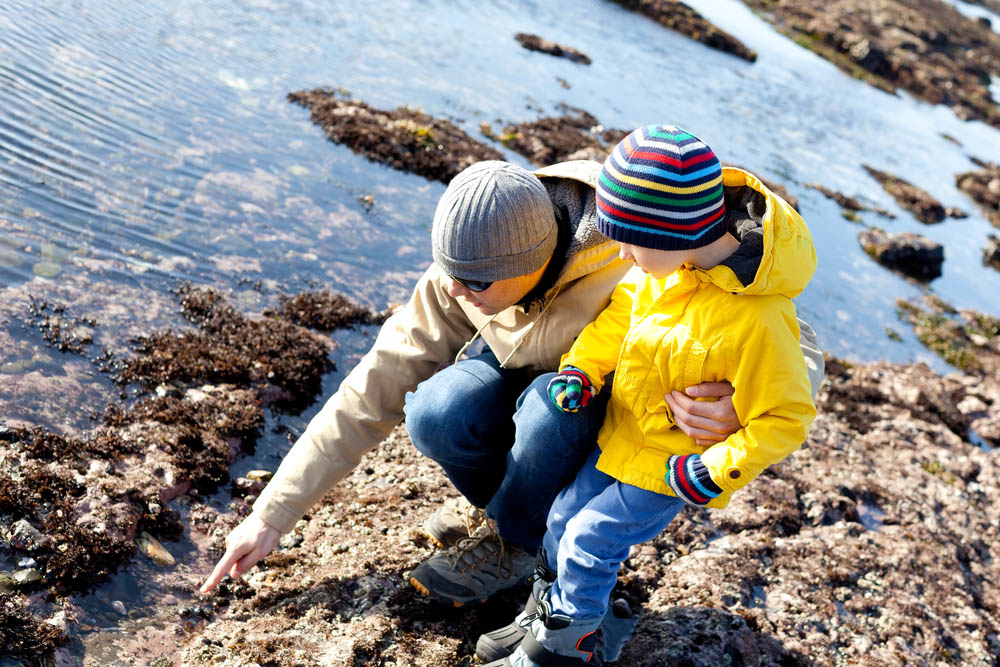 Unschooling Outdoors at the Beach